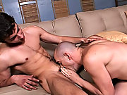 This twink stripped down and not only gave Enrique the tight sphincter sampler he wanted, but also gave him a balls-deep cock throating free male hard