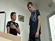 David White and Mark Paris have just moved in first gay ass fuck