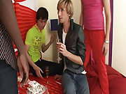 What a surprise group masturbation guys at Crazy Party Boys