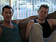 Blake climbs up on the couch, and leans over and begs Jordan to present it in slow and indulgent free hardcore gay rimmin at Broke College Boys!