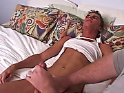 I wanted to see if he was awake so I started rubbing his crotch first gay big cock