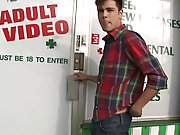 in this weeks out in public im chilling with my boy aaron and were hangig out infront of this adult video store and then we see this young boy walking