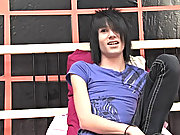 Hairdresser and comprehensive in the nick of time b soon Scene / Emo young man Brandon gets auspicious down to it in this solo pictures of young boys