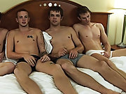The boys stripped off to their underwear, making unfaltering to tolerate their shoes and socks off, looking every inch of an Abercrombie and Fitch adv