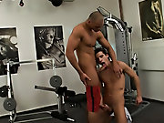 I bet you've never gotten a workout in a gym like this gay male muscle videos
