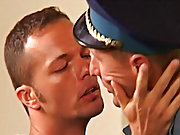 To demonstrate his authority, he asks the cop to have intimacy with the prisoner free gay group porn