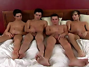 Winter Vance, Turk Melrose, Huntsman Wylde, Tyler Anthony hardcore fucking demonstrate gay mature with twinks