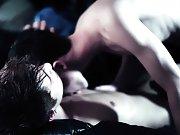 Kain throws Adrian's legs over his shoulders to penetrate his breathless victim gay sex video twinks - Gay Twinks Vampires Saga!